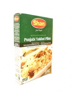 Shan Pilau Biryani Spice Mix [For Delhi Style Meat & Condiments Pilaf] | Buy Online at the Asian Cookshop
